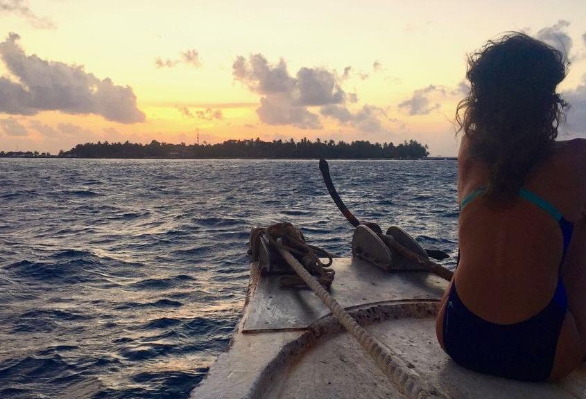 Maldivas sunset