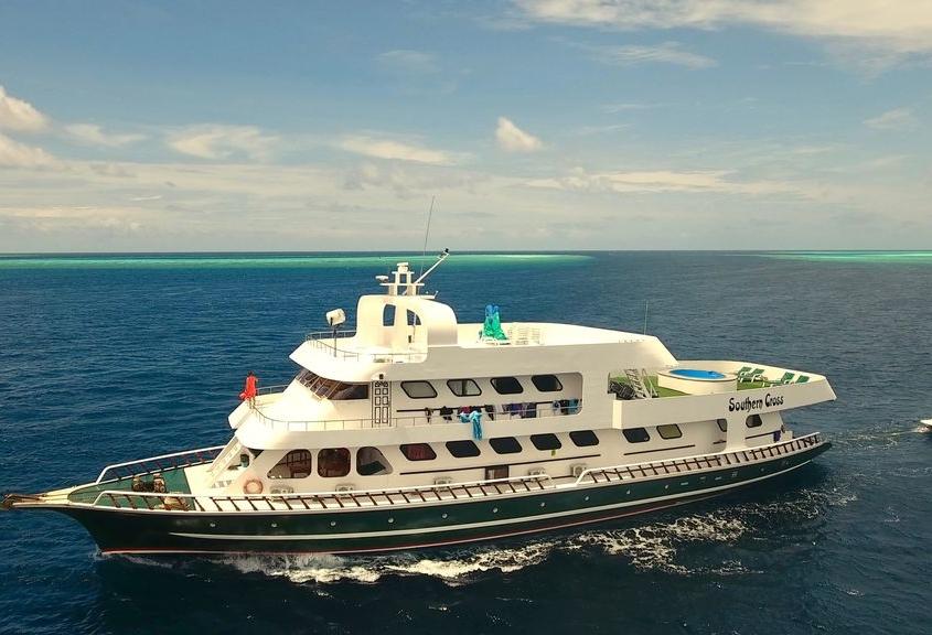 Vida a bordo en Maldivas