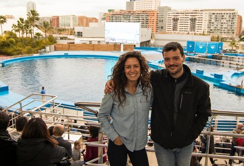 David Nacher y Laura Madrueño
