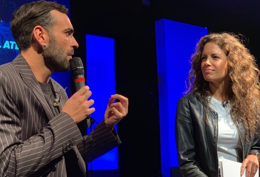 Laura Madrueño y Marco Mengoni
