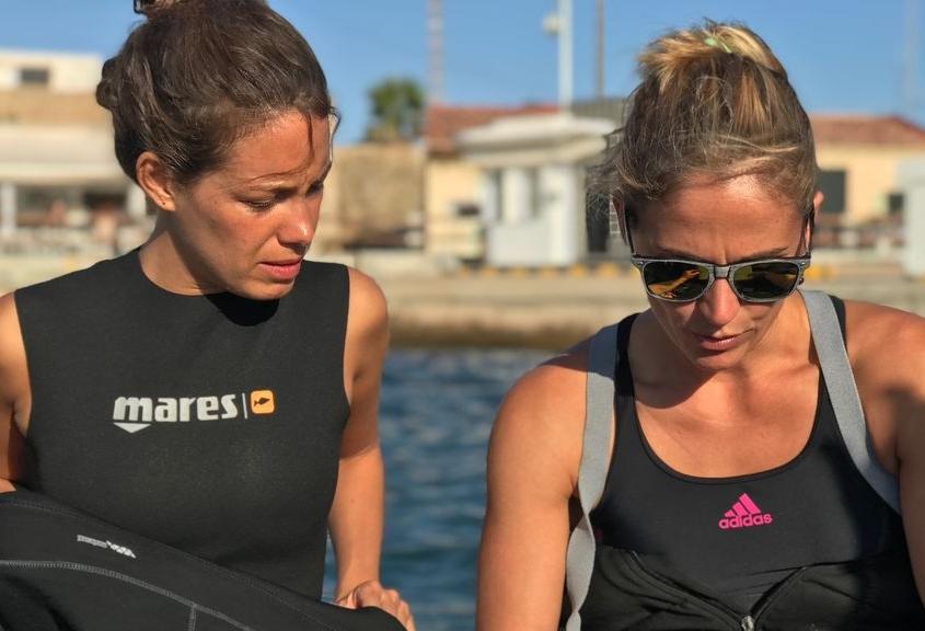 Laura Madrueño e Inma Marín