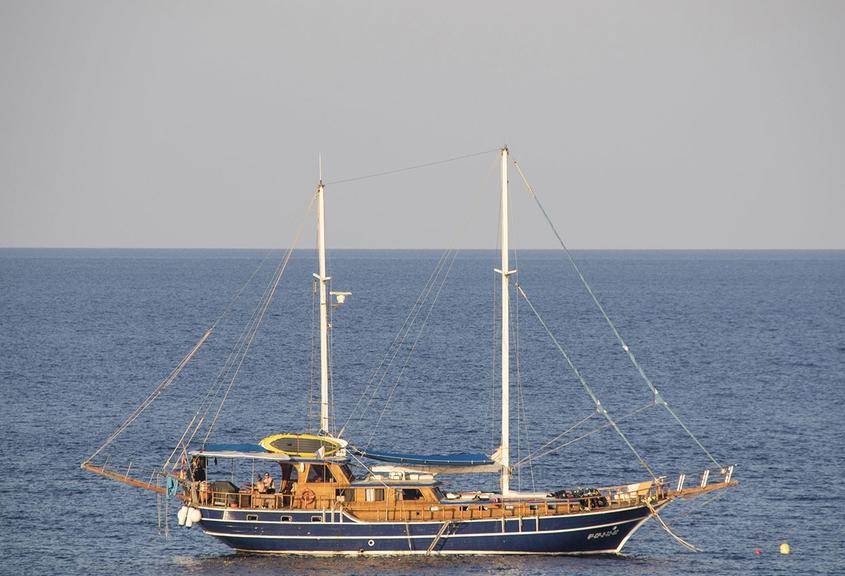 Vida a bordo en la Goleta San Sebastián