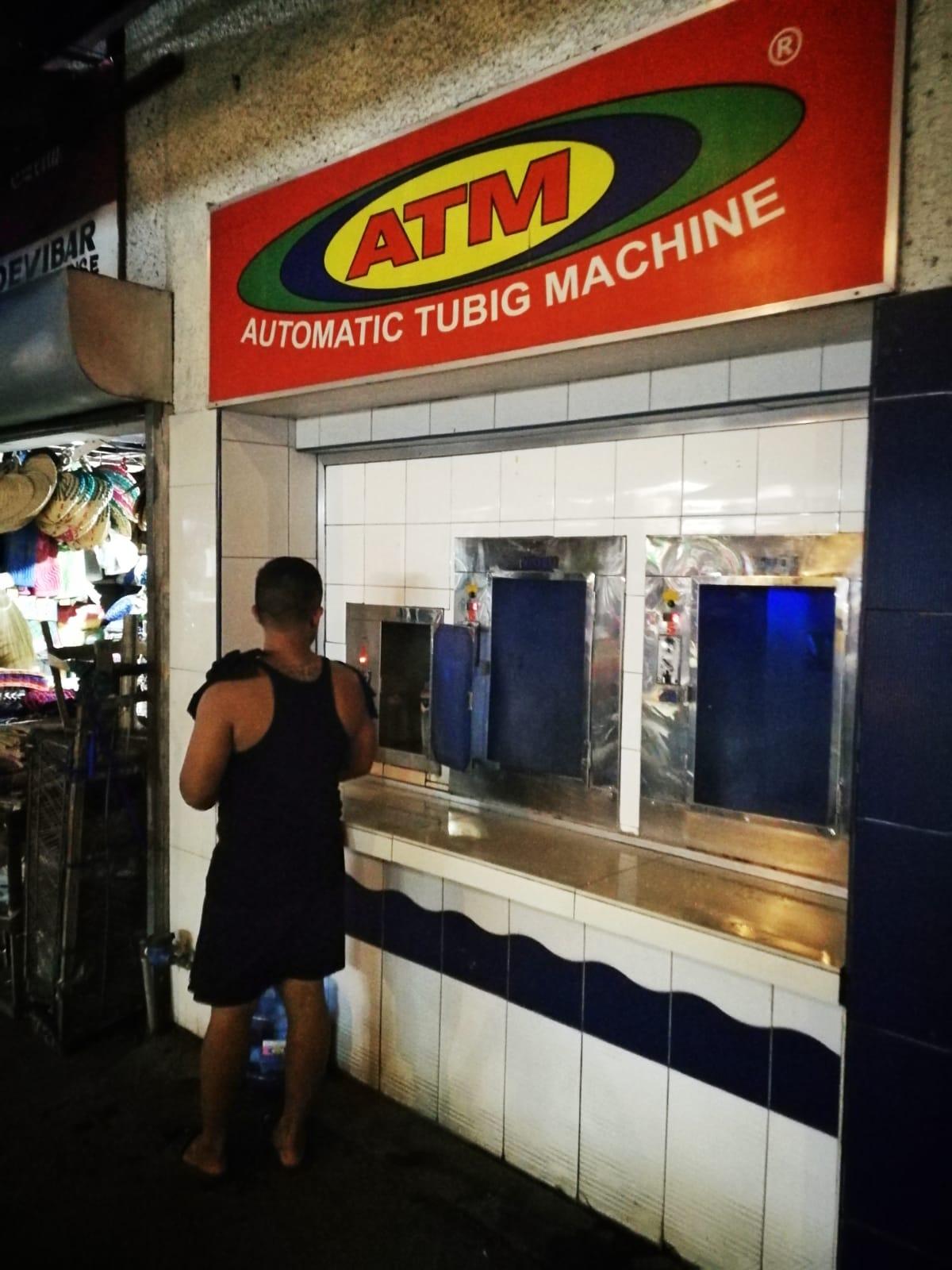 Automatic tubig machine